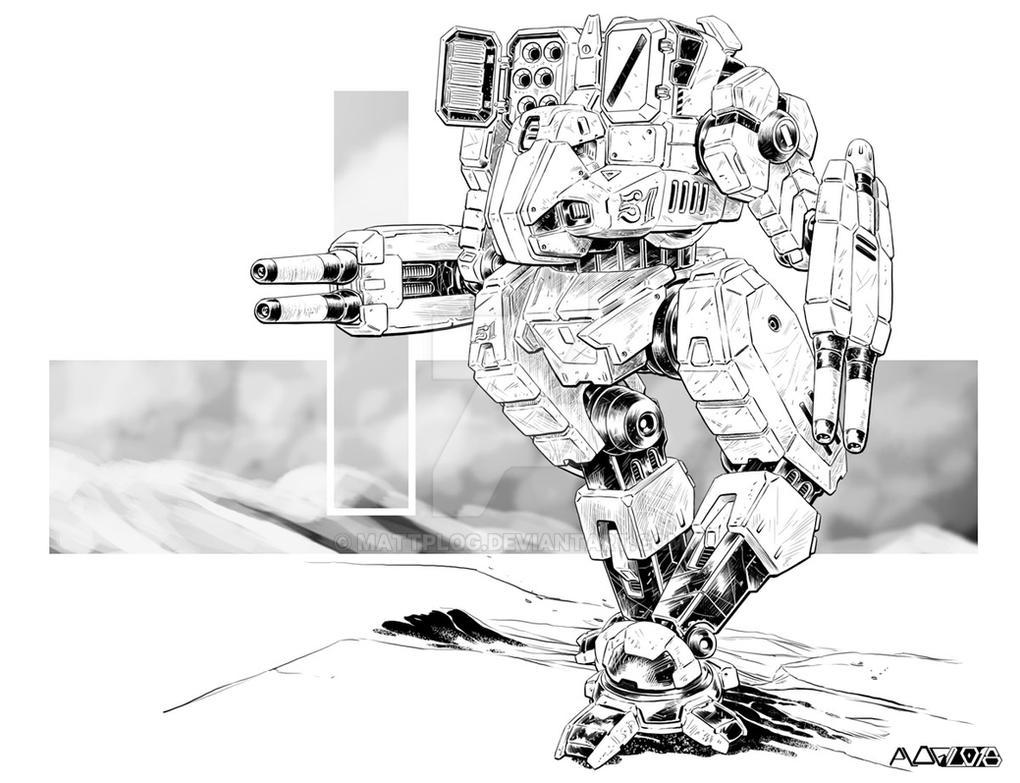 Comm: Skinwalker Ryoken by mattPLOG