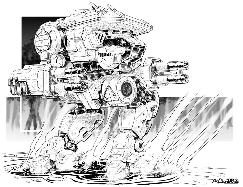 Comm: Skinwalker Warhawk by mattPLOG