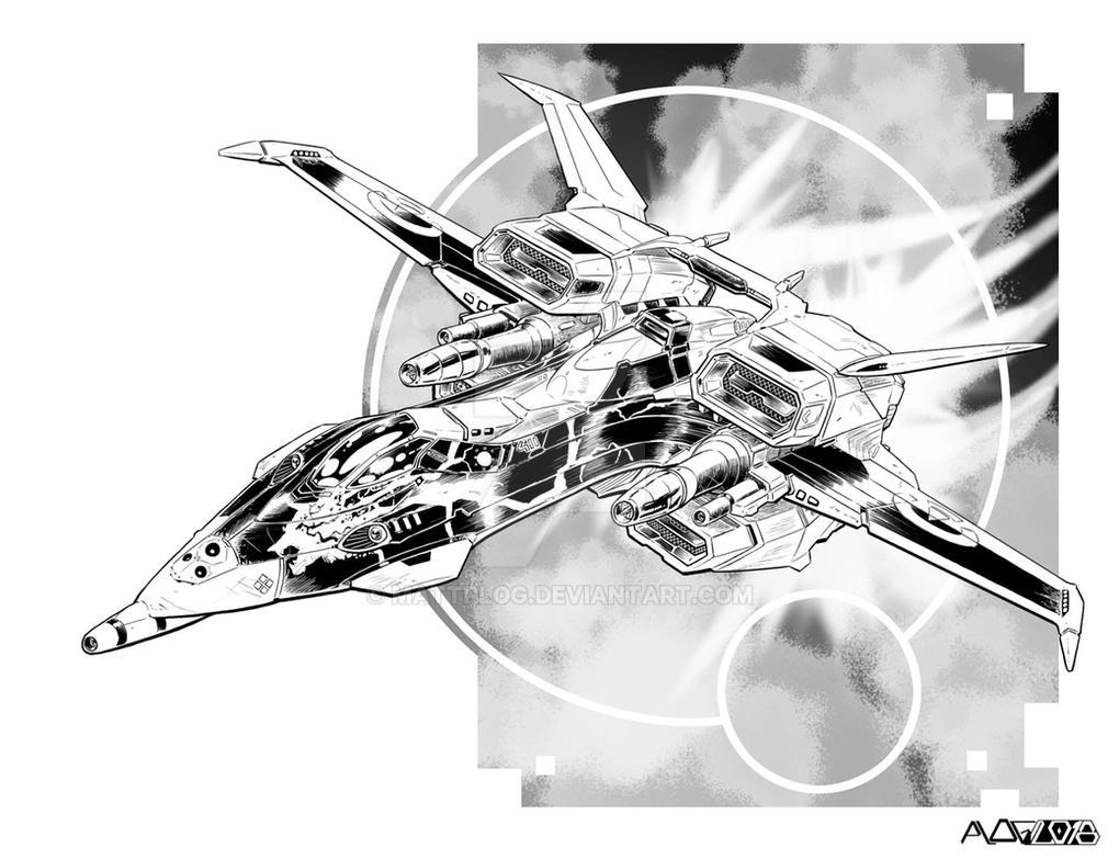 Comm: Heavy Aerofighter B by mattPLOG