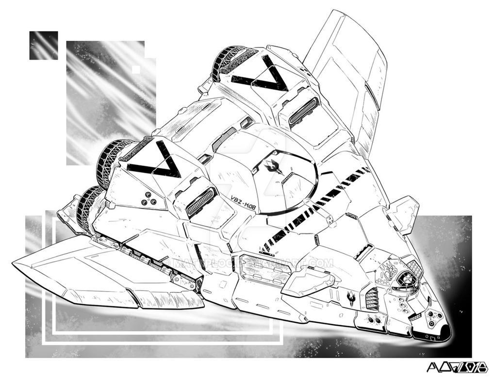 Comm: General Purpose Shuttle by mattPLOG