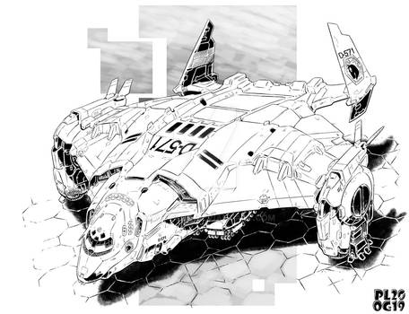 Comm:  Medium Aerodyne Dropship