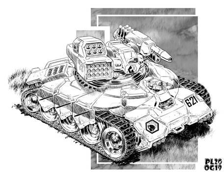 Comm:  Light Tank Multirole