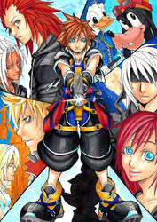 Kingdom Hearts by Hoshi-Suzume