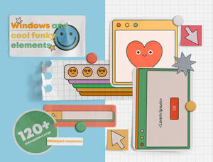 windows and cool funky elements pack  Chimiyaa
