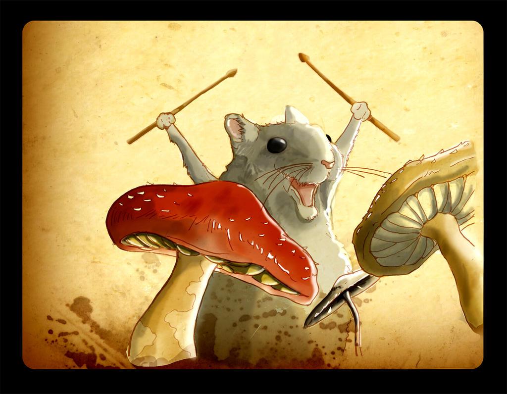 Drum n' mouse by fablau