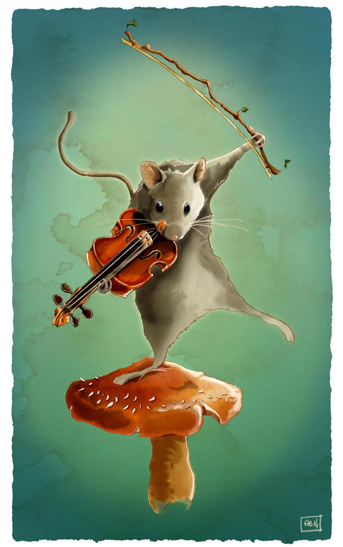 Deviations préférées de la semaine : [KIKY] - Page 5 Violin_time_by_fablau-d7yahgm