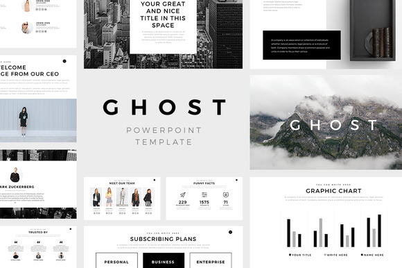Ghost minimal powerpoint template by creativework247 on deviantart ghost minimal powerpoint template by creativework247 toneelgroepblik Image collections