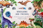 Dinosaurs and Friends