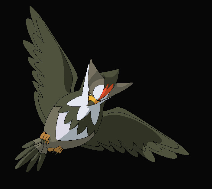 Staraptor - Pokemon by Tainted-Raven on DeviantArt