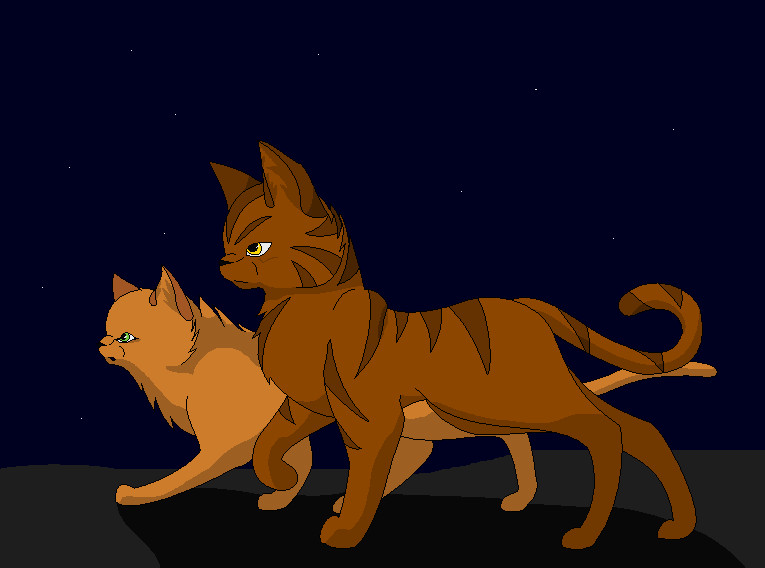 Warrior Cats Brambleclaw And Squirrelflight – HD Wallpapers