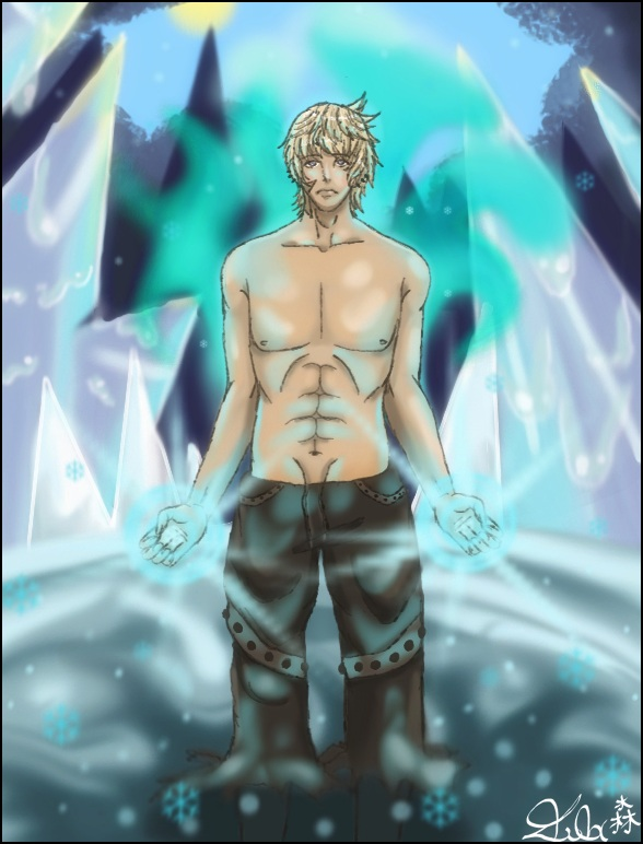 Go Back  gt  Gallery For  gt  Anime Ice Mage MaleIce Mage Anime