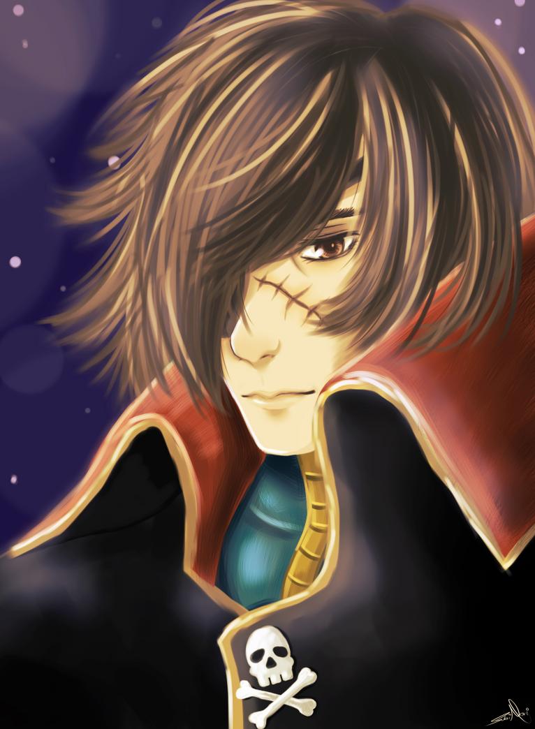 Captain Phantom F. Harlock JR by SuBiMoRi