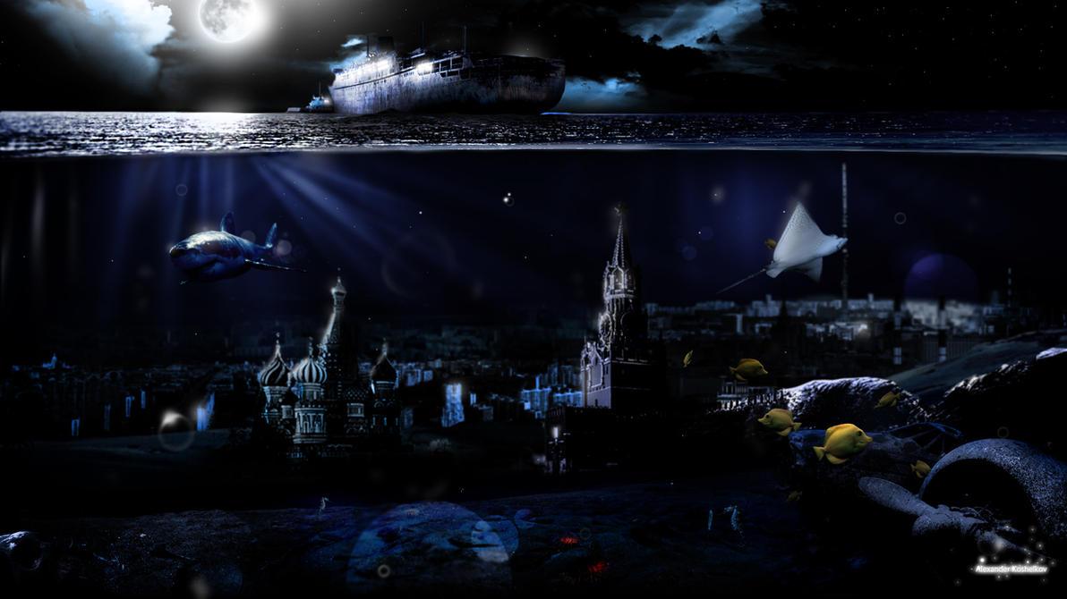 Underwater City by Koshelkov