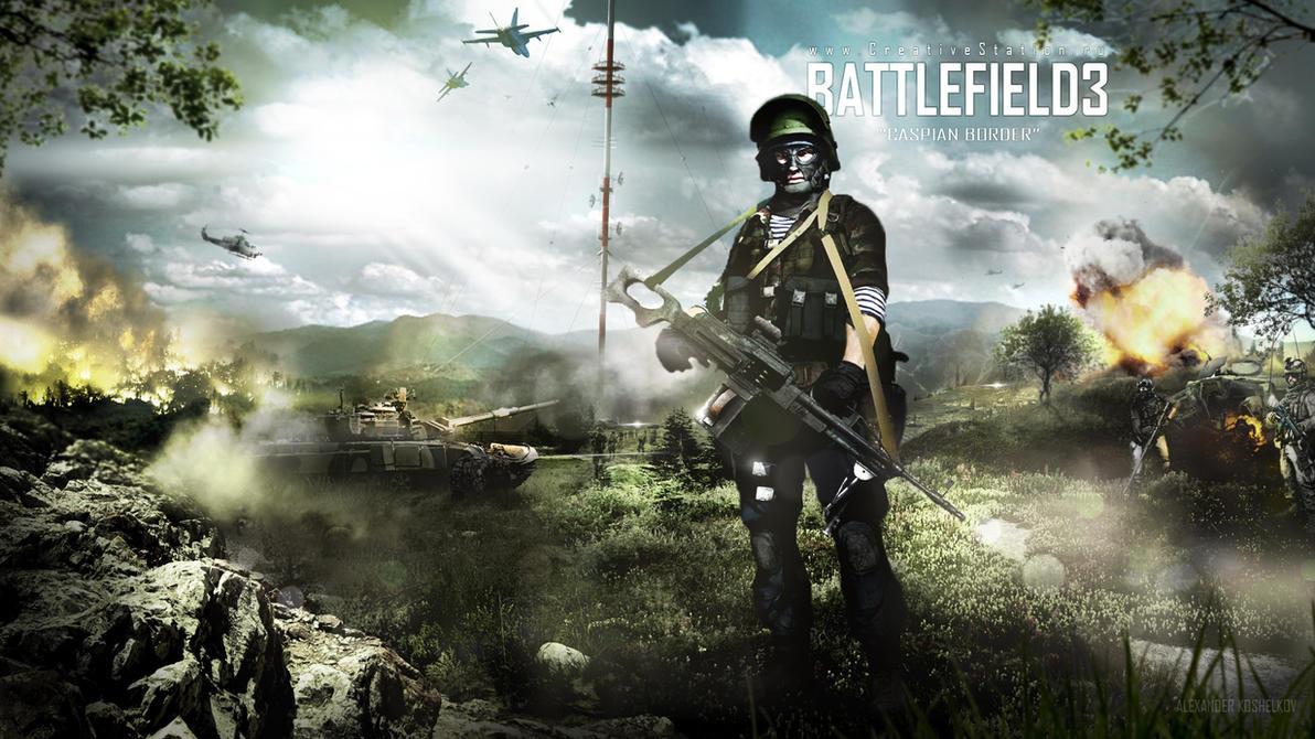 Battlefield 3 Caspian Border by Koshelkov