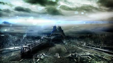 Paris Eiffel Tower by Koshelkov