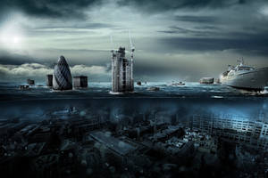 London Underwater by Koshelkov