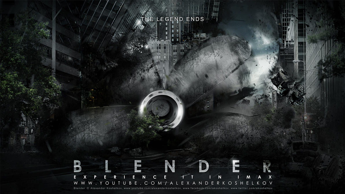 Blender | The Legend Ends by Koshelkov