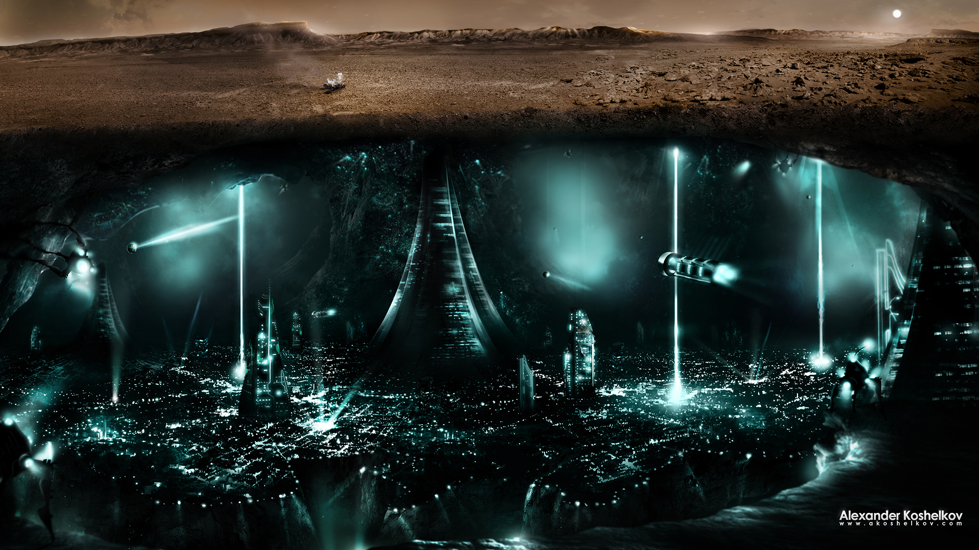 Life in MARS by Koshelkov