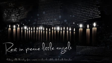 Rest in peace little angels