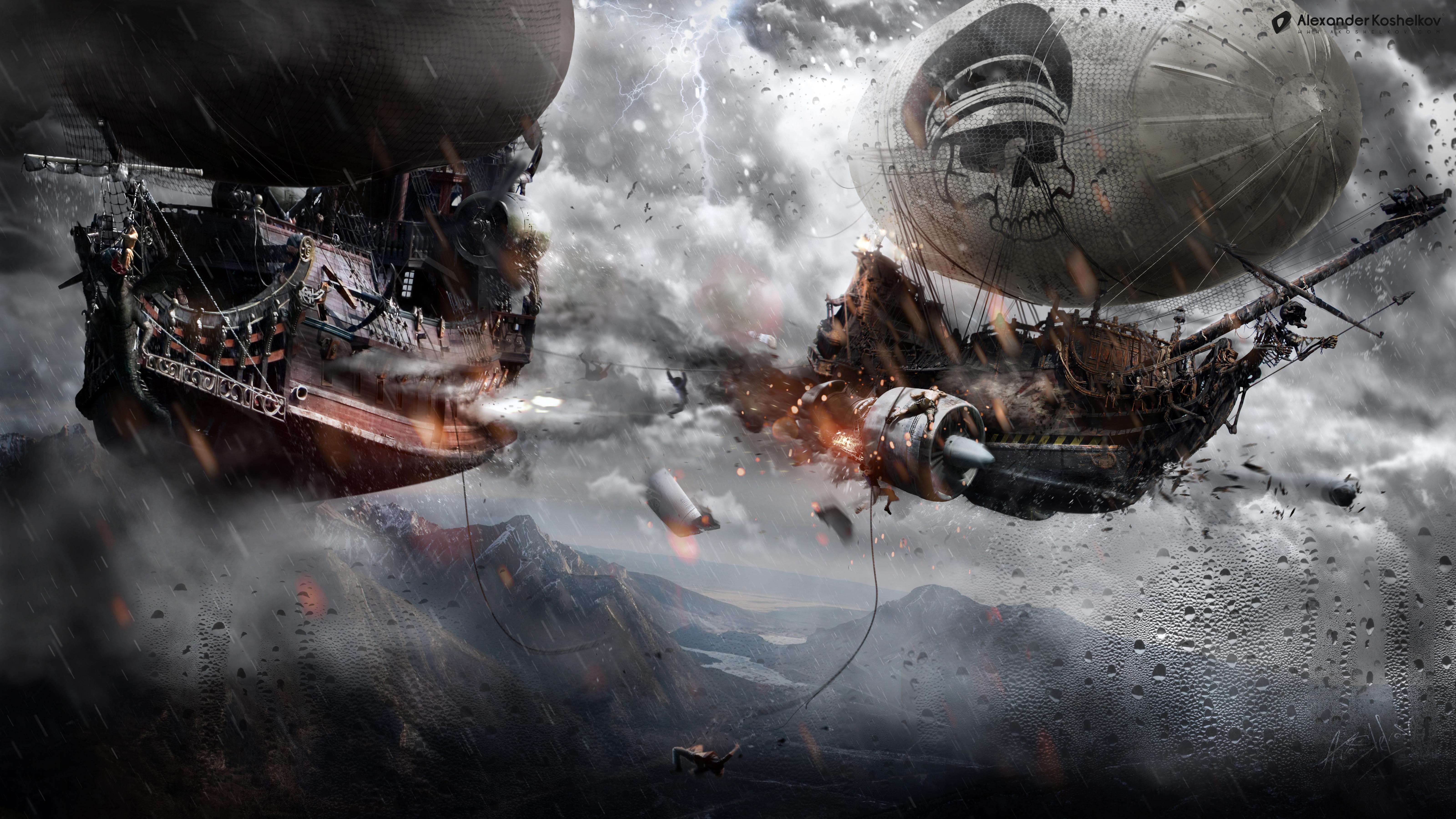 Airship Of Doom by Koshelkov on DeviantArt