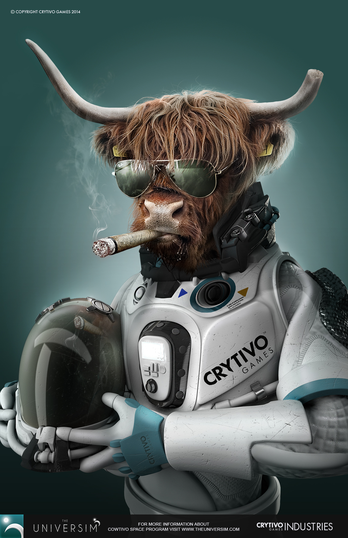 MEET CAPTAIN BULL ANDERSON, THE FIRST OF HIS KIND! by Koshelkov