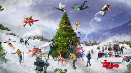 Holiday Card for Experiences For Mankind Agency