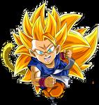 Kid Goku GT SSJ3
