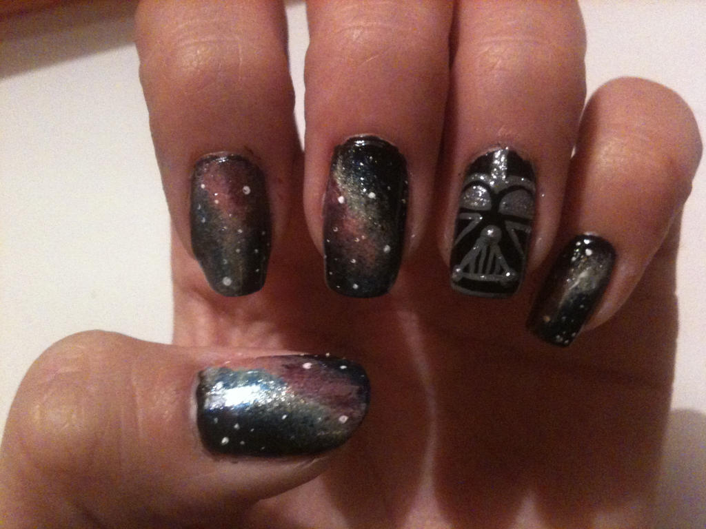 Star Wars Nail Art by missesred1 on DeviantArt