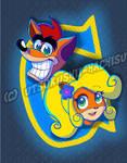Crash n Coco logo tribute