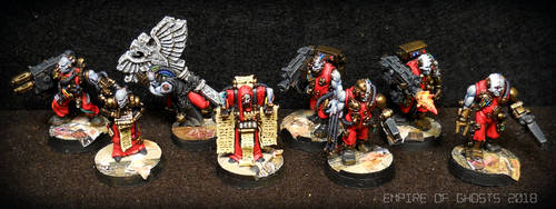 AdMech Servitor Squad by EmpireOfGhosts