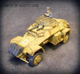 1/56 Sdkfz. 222 Armoured Car by EmpireOfGhosts