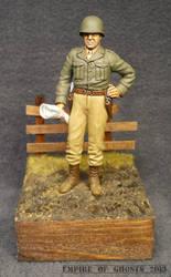 Tamiya 1/25 General Patton figure by EmpireOfGhosts