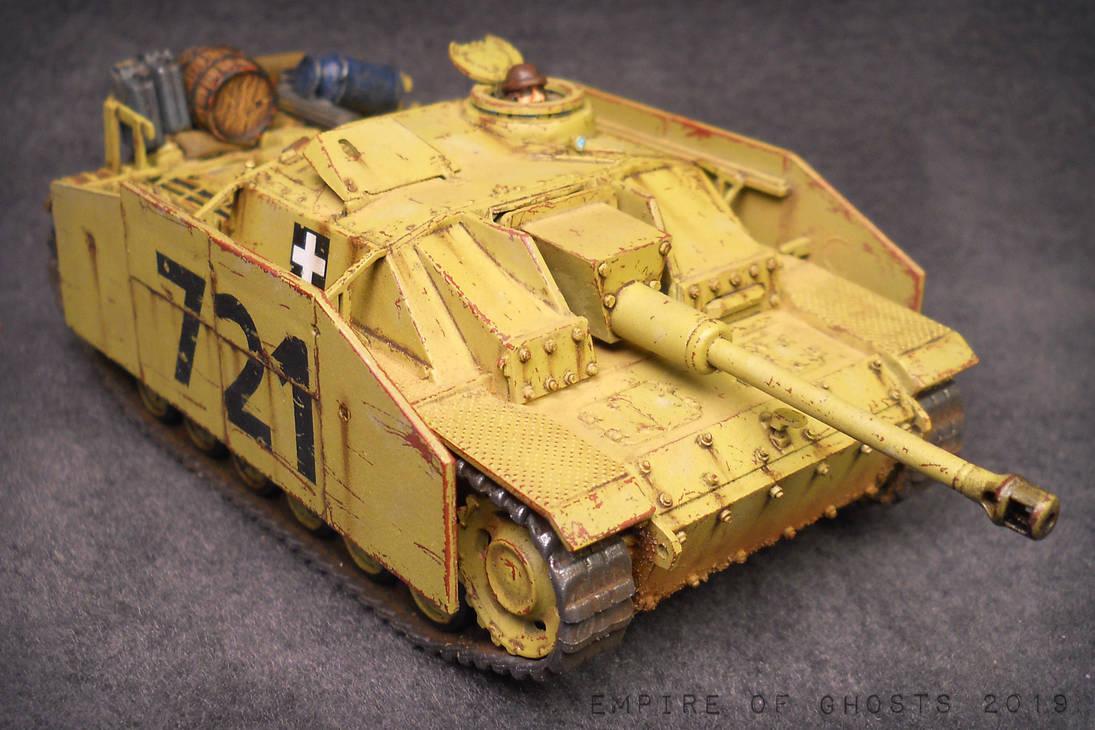 1/56 Hungarian StuG Ausf. G by EmpireOfGhosts