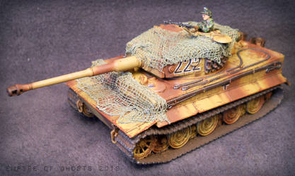 1/56 SS 'Wiking' Tiger I by EmpireOfGhosts