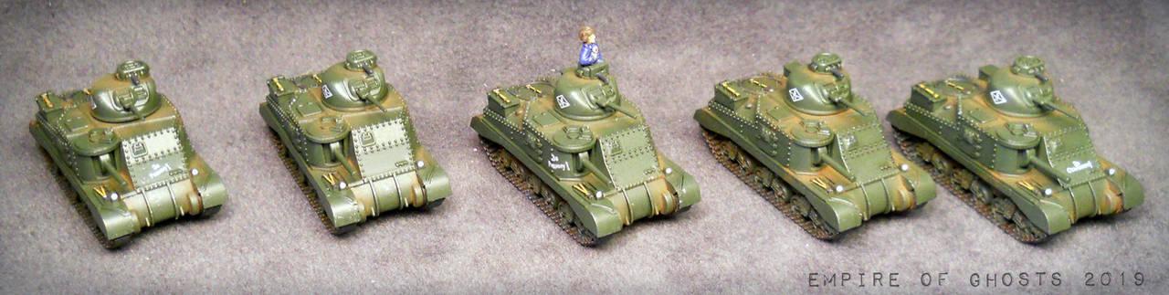 15mm Soviet Tankovy Company #2 by EmpireOfGhosts