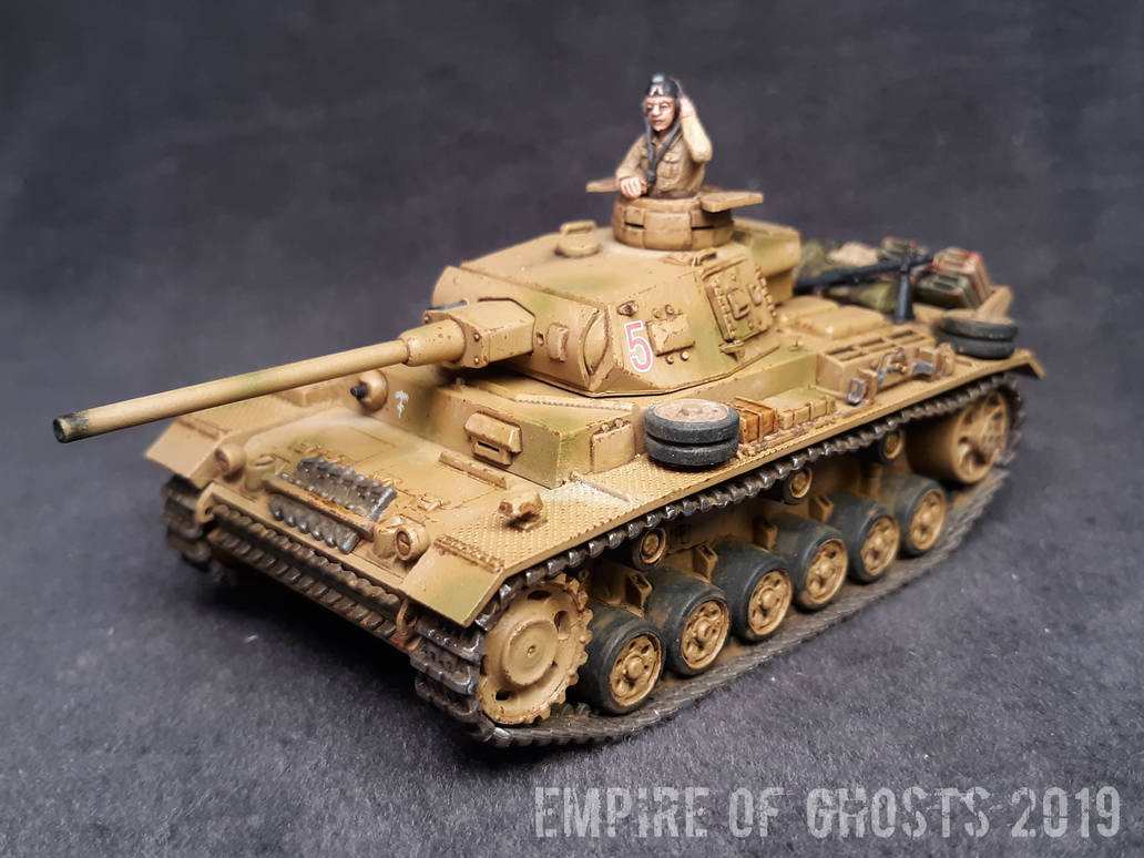 1/56 Warlord Games Panzer III Ausf. J by EmpireOfGhosts