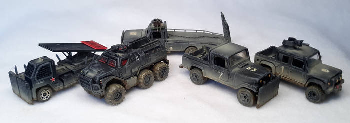 Gaslands Trucks