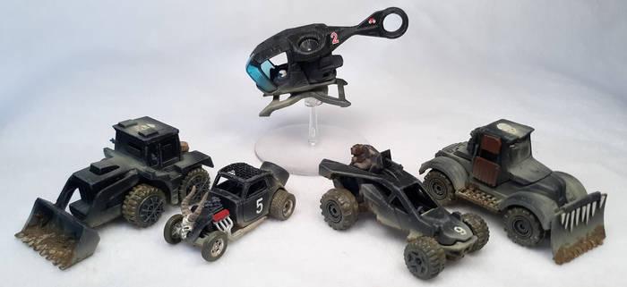 Gaslands Misc. Vehicles