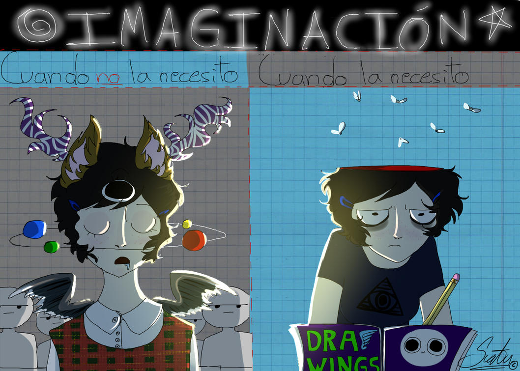 Imagination  [HORNED HEADS] #3 by ZorriFox