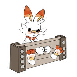 A Stocked Scorbunny by TheGifTickler