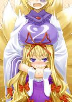 Yukari..chan ??? by okitakung