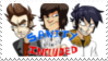 Sanity Not Included Stamp by KristianTheTiragon