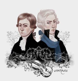 Salieri and Sherlock Mozart