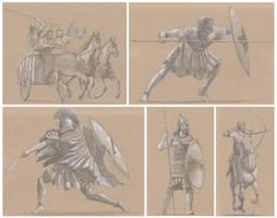 Ancient armies by RobbieMcSweeney