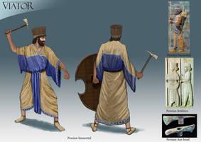 Persian Immortal by RobbieMcSweeney