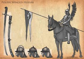 Polish Winged Hussar by RobbieMcSweeney