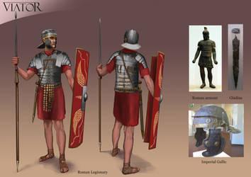 Roman Legionary by RobbieMcSweeney