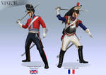 2nd Dragoon and 5th Cuirassier