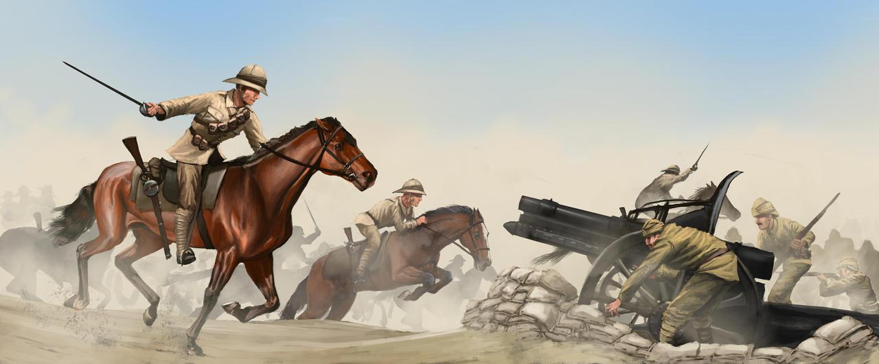 The Battle of Beersheba 1917 by RobbieMcSweeney
