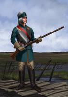 Valdaurian Match Lock Musketeer by RobbieMcSweeney